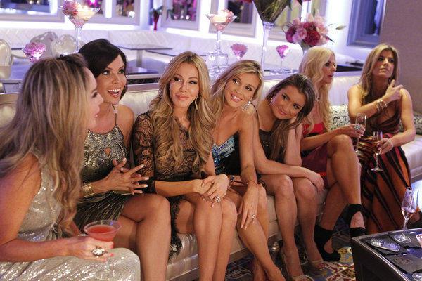 L-R: Marysol Patton, Karent Sierra,  Lisa Hochstein, Joanna Krupa, Alexia Echevarria, Ana Quincoces.