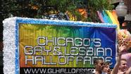 Chicago's Gay and Lesbian Hall of Fame sign