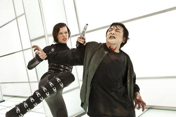 "Milla Jovovich reprises her zombie-fighting role in ""Resident Evil: Retribution."""