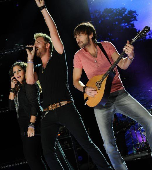 2012 CMA Awards nominees: Eli Young Band Lady Antebellum (pictured) Little Big Town The Band Perry Zac Brown Band