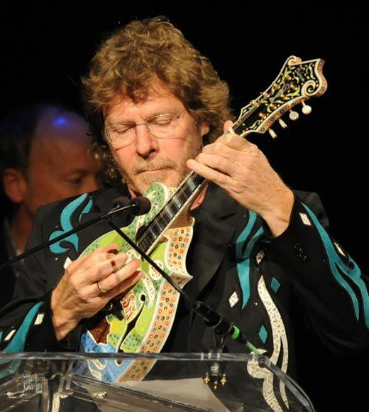2012 CMA Awards nominees: Sam Bush - Mandolin (pictured) Paul Franklin - Steel Guitar Dann Huff - Guitar Brent Mason - Guitar Mac McAnally - Guitar