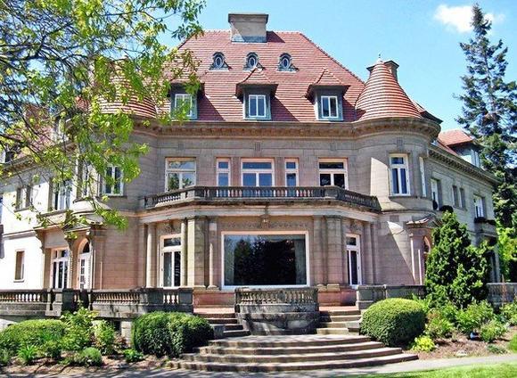 Pittock Mansion in Portland, Ore.