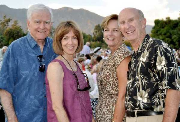 Jay and Donna Gallagher enjoy a night of Gershwin music at the Pops concert.