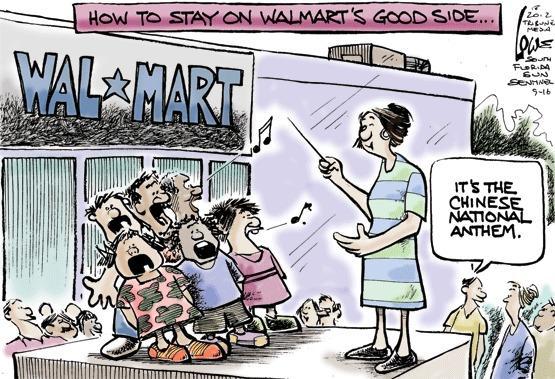 Walmart boots singing kids
