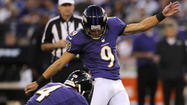 Ravens' Justin Tucker on the art of the touchback