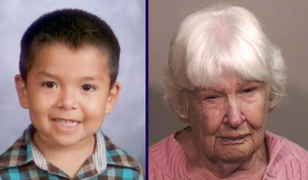 Prosecutors allege Brayan Silva, 6, was killed by Veramae C. Phillip, 83.