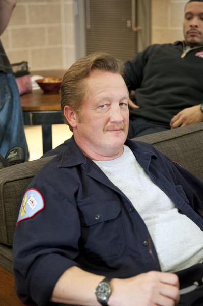 "Chicago-based actor Christian Stolte plays a firefighter names Mouch in NBC's new drama ""Chicago Fire,"" which premieres Oct. 19. Stolte has appeared in many series filmed in Chicago, including ""Boss,"" ""The Chicago Code,"" ""The Playboy Club,"" ""Prison Break"" and the film ""Public Enemies."""