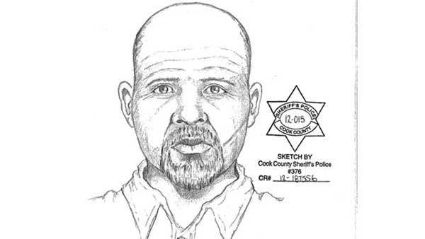 Sketch of suspect in Winfield child luring.