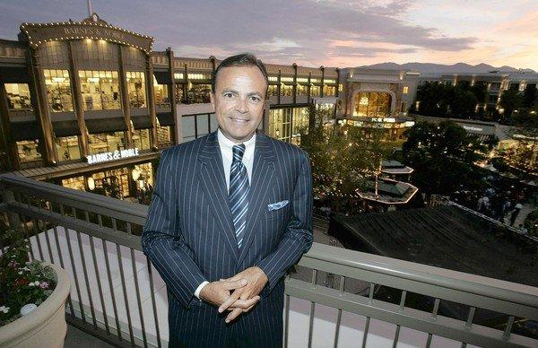 "Developer Rick Caruso is shown at Americana at Brand in 2008. Caruso was a Republican and recently changed his party affiliation to ""decline to state."" He could potentially use his $2-billion personal fortune to finance a campaign."