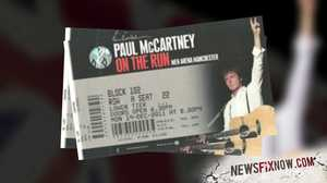 Paul McCartney Concert Ticket Sales