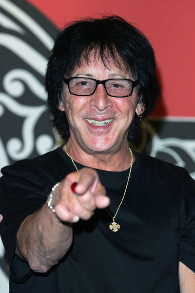 He definitely looks better with the makeup on.  KISS member Peter Criss celebrates his 65th birthday today.