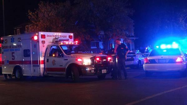 Chicago police investigate an officer involved shooting near 110th Place and S. Wentworth Avenue.