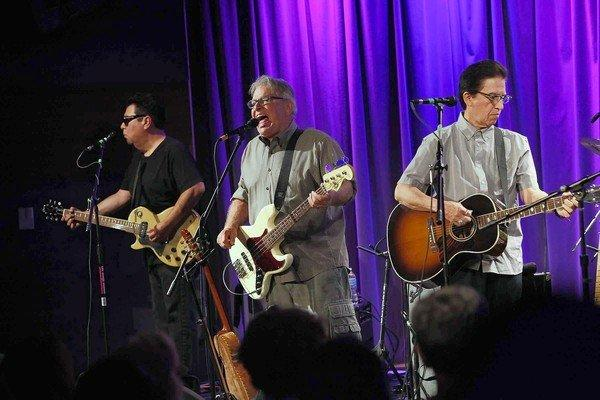 Los Lobos performs at the Grammy Museum in downtown Los Angeles in August.