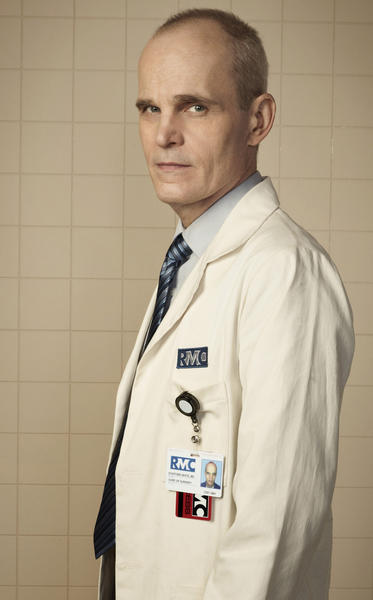 "Zeljko Ivanek in Fox's ""Mob Doctor."""