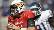 Without much help, Terps freshman QB Hills puts a lot on his shoulders