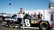 Johnson wins pole for Chase opener, Bowyer will start 9th