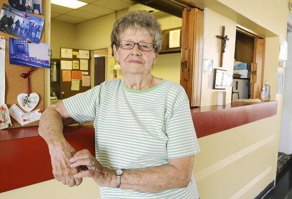 Milly Skrac runs the ecumenical kitchen at Our Lady of Mount Carmel Church in Allentown.