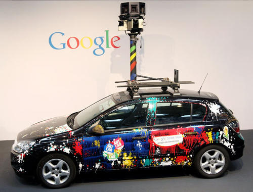 Google's Street View project has raised controversy from people across Europe worried about infringement of their privacy. (Photo by Sean Gallup/Getty Images)