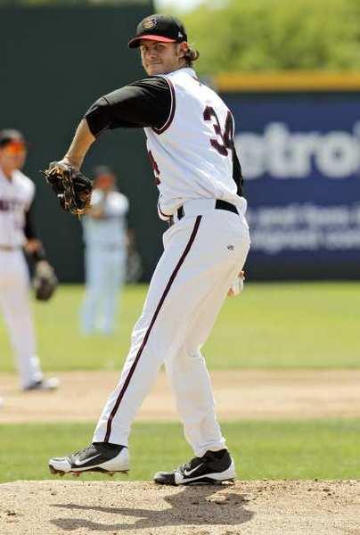 Christian Bergman has added to a standout 2012 campaign with the Modesto Nuts in the postseason.