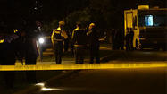 Chicago police work the scene of an officer involved shooting