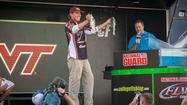 The Fairmont State University team won the National Guard FLW College Fishing Northern Conference Championship on Philpott Lake Saturday with a five-bass limit weighing 7 pounds, 4 ounces. Their three day total weight of 24 pounds, 12 ounces beat State University of New York – Plattsburgh by 1 pound, 12 ounces.