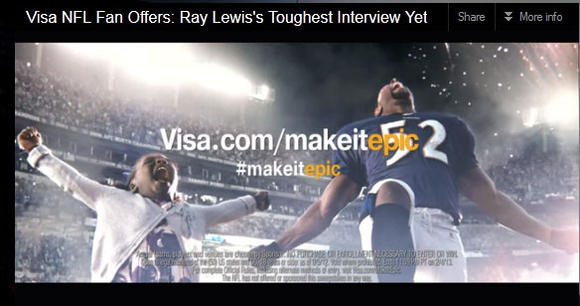 New Ray Lewis ad