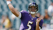 Orchestrating the no-huddle offense with confidence, Ravens quarterback Joe Flacco engineered a routine victory over the Cincinnati Bengals last Monday night.