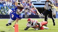 "<span style=""font-size: small;"">C.J. Spiller ran for 123 yards and 2 touchdowns while Ryan Fitzpatrick was 10 of 19 throwing for 178 yards and two touchdowns as the Bills absolutely demolished the Chiefs 35-17.</span>"