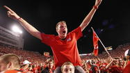 <strong>Jokes aside, Utah fans know how to party.</strong> Fans stormed the field not once, not twice but three times, almost costing the Utes a victory. The miscues gave rival BYU two late chances to win the game but the Cougars squandered both in a loss.