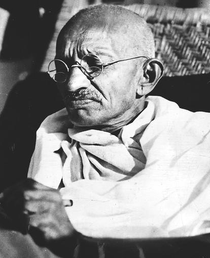 The story of Gandhi provided a recent lesson on character for students at Cristo Rey Jesuit High School in Chicago.