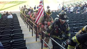 Firefighters Climb Stairs in Lancaster to Honor Heroes of 9/11