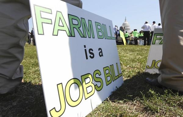 Farm bill supporters held a rally last week in Washington, D.C.The Senate and House agriculture committee passed versions of the farm bill over the summer, both full of handouts to the farm sector.