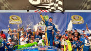 Keselowski takes Chase opener, points lead; Bowyer finishes 10th