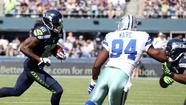 The Seattle Seahawks recovered a Dallas Cowyboys fumble in the opening kickoff Sunday at CenturyLink, setting the tone early for the Seahawks' 27-7 win.
