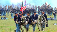 Those attending Sunday's re-creation of the Battle of Antietam got a feel for what it was like for Sharpsburg-area residents to hear the Civil War coming as the moments clicked down to the bloodiest single day in the history of the United States.