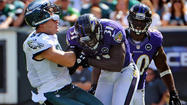 Injury to Ravens' Pollard opens up field for Eagles' Celek