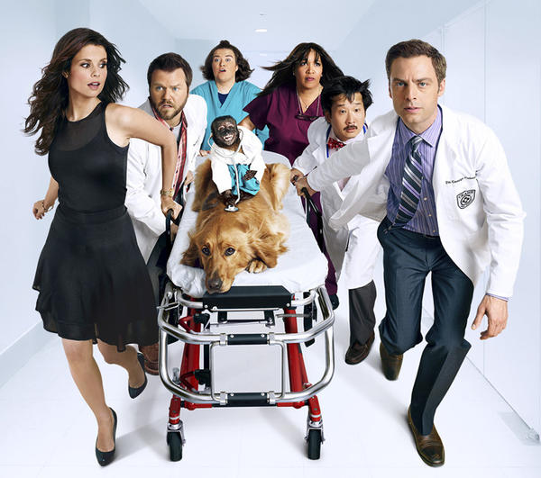 "<i>7 p.m. Sept. 26, NBC</i> <br>Crystal the monkey from ""The Hangover"" deserves better than this sitcom about a veterinarian (Justin Kirk) who has a real Dr. House complex. Crystal gets all the laughs."