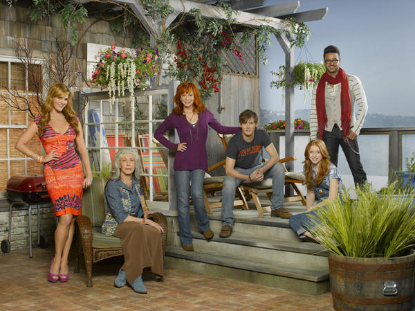 "<i>7:20 p.m. Nov. 2, ABC</i> <br>""Reba"" fans, and those of Reba McEntire, are going to love this. It's basically the same show, with McEntire playing a country singer who moves her family to Malibu after her hubby does her wrong. Little if any imagination went into this. <br>Pictured (from left): Sara Rue, Lily Tomlin, Reba McEntire, Justin Prentice, Juliette Angelo, Jai Rodriguez"