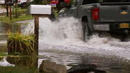 Rain Overpowers Wind in Anchorage Area