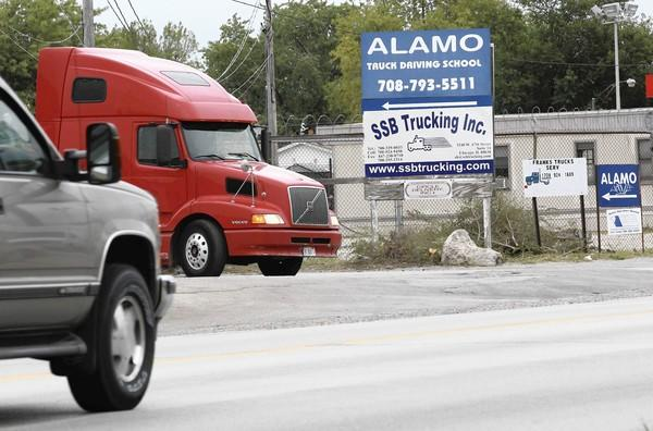 SSB Trucking Inc. in Chicago is near the top of the Illinois Tollway's list of companies with the most unpaid tolls and fines, with $152,362 owed. The business also lists an address in Streamwood.