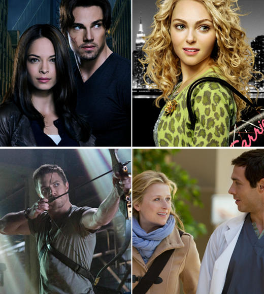 Fall TV 2012: New shows from ABC, CBS, NBC, FOX and The CW: The CW has picked up five new dramas for the 2012-13 season, pairing superhero show Arrow with Supernatural on Wednesdays and moving Americas Next Top Model to Friday nights. Beauty and the Beast is getting a lead-in from The Vampire Diaries, while Tuesday nights goes medical with Hart of Dixie and new show Emily Owens, M.D.  Related:  The CWs night-by-night schedule Supernatural moves to Wednesdays Big changes at Americas Next Top Model