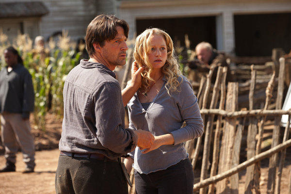 'Revolution' Season 1 photos: Ben Matheson (Tim Guinee) and Maggie (Anna Lise Phillips)