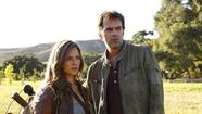 "Charlotte ""Charlie"" Matheson (Tracy Spiridakos) and Miles Matheson (Billy Burke)"