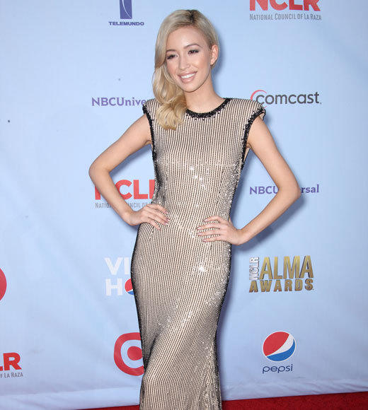 ALMA Awards arrivals: Christina Aguilera, Ryan Lochte, Eva Longoria & more!: Christian Serratos