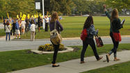 While teachers remained on strike, Lake Forest High School reopened Monday, apparently with enough students and certified teachers on hand to meet state criteria.