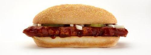 The McRib will return around Christmas