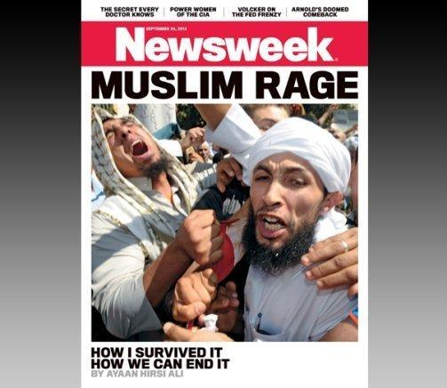 "Newsweek's controversial ""Muslim Rage"" cover."