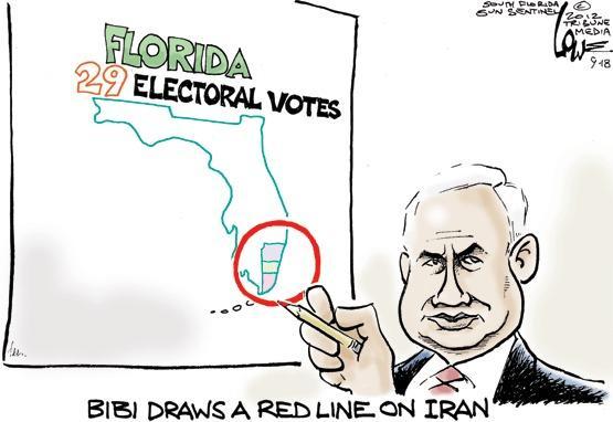 Bibi draws a red line