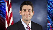 Republican vice presidential candidate Paul Ryan ribbed the Minnesota Vikings and addressed the country's growing debt crisis during a fundraiser in Indianapolis Monday.