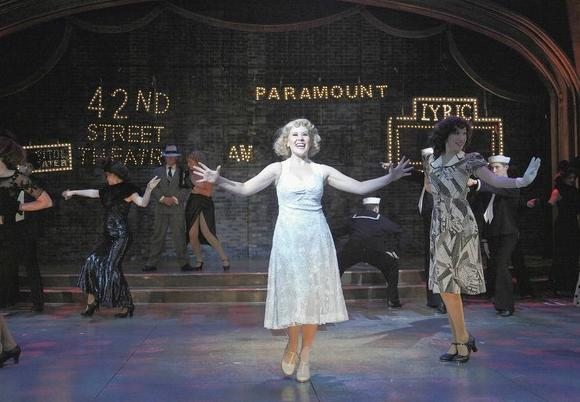 "Nicole Miller takes center stage for ""42nd Street"" at Theatre at the Center."